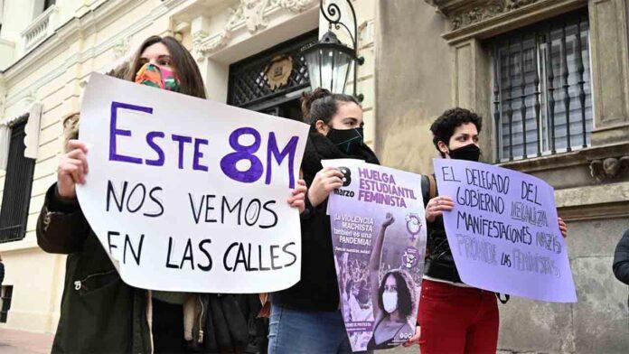 La justicia ratifica la prohibición de manifestarse en Madrid por el 8M