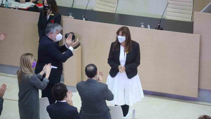 Laura Borràs, elegida presidenta del Parlament de Catalunya