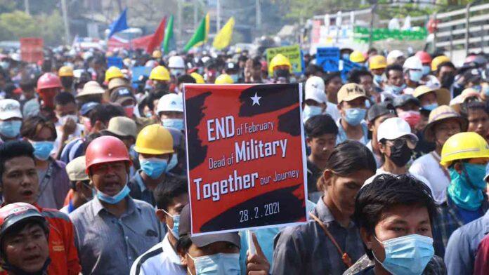 Más de 50 manifestantes muertos en Birmania, según informa el enviado de la ONU
