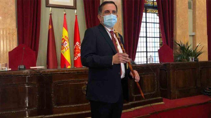 Nuevo alcalde del PSOE en el Ayuntamiento de Murcia