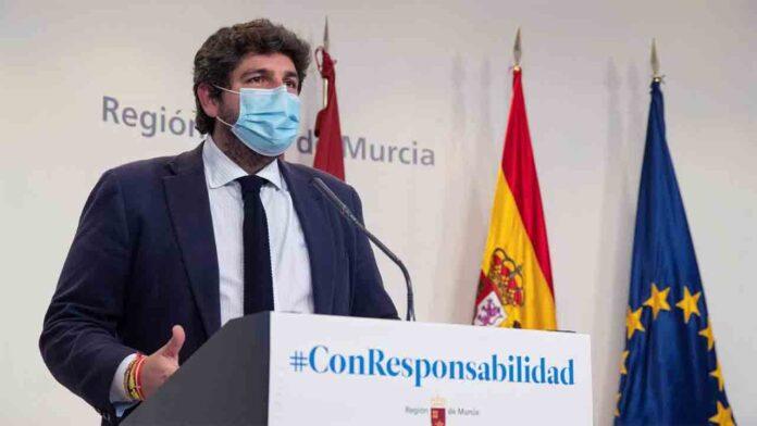 PSOE y Cs presentan una moción de censura en Murcia contra el gobierno y Ayuntamiento