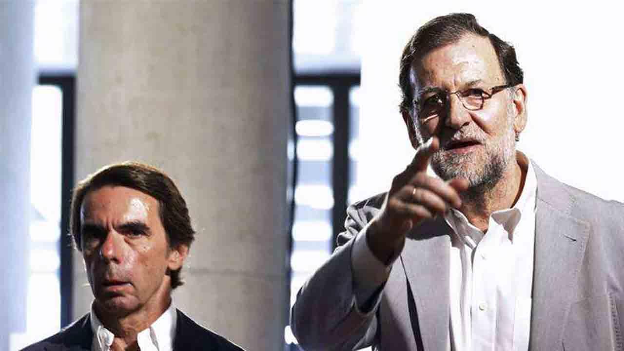 Rajoy y Aznar niegan los sobresueldos