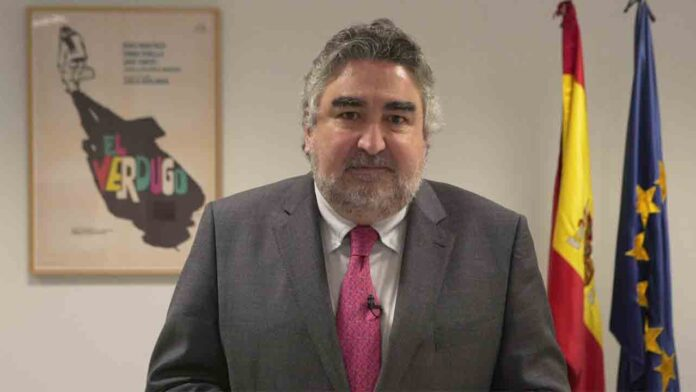 Rofríguez Uribes ha refrendado su apoyo al cine español