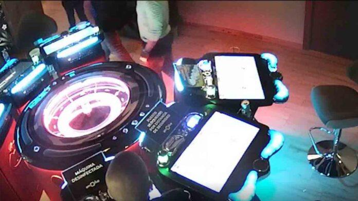 3 detenidos por amañar ruletas de juego en casinos