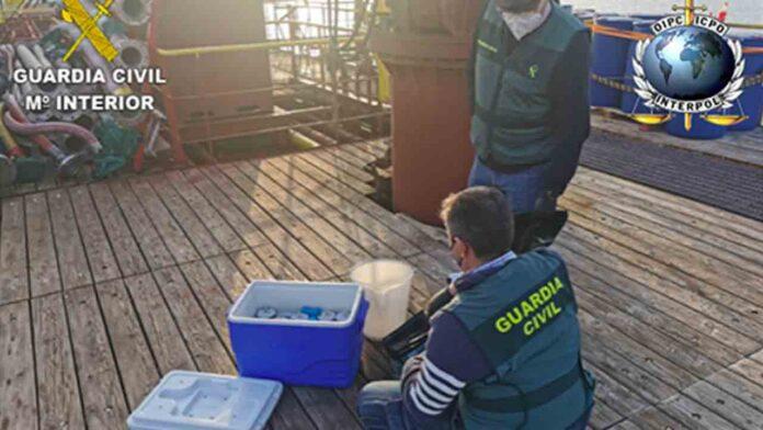 69 detenidos por delitos de contaminación marina