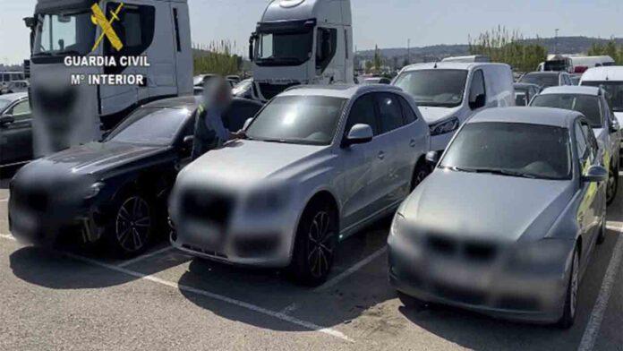 Desarticulada una organización dedicada al robo de vehículos de alta gama