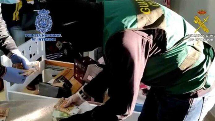 Desarticulada una organización dedicada al tráfico de cocaína en la Costa del Sol