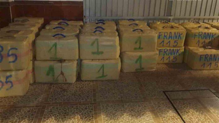 Desarticulado un grupo dedicado al tráfico de hachís en el Campo de Gibraltar