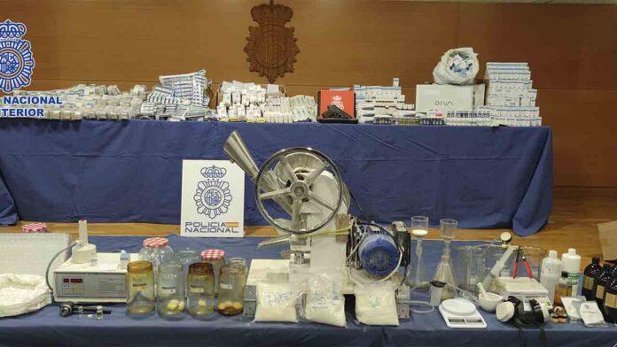 Desmantelado un laboratorio ilegal de anabolizantes y hormonas