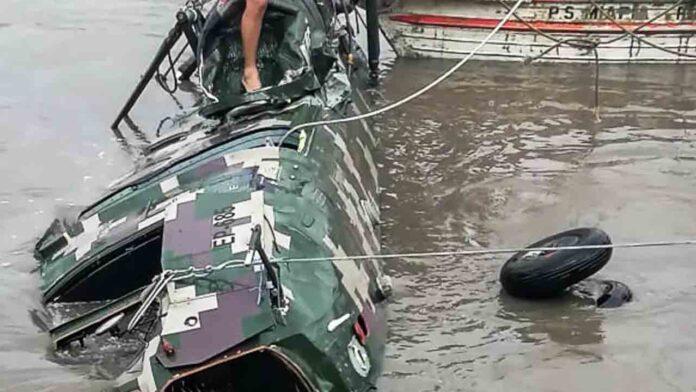 Fallecen cinco soldados peruanos en accidente de helicóptero en Cusco