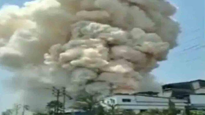 Incendio en una empresa farmaceútica de India