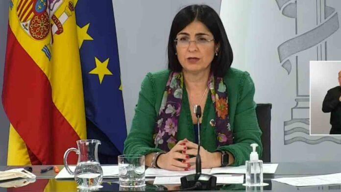 La Ministra de Sanidad pide a Madrid que aplique medidas más restrictivas