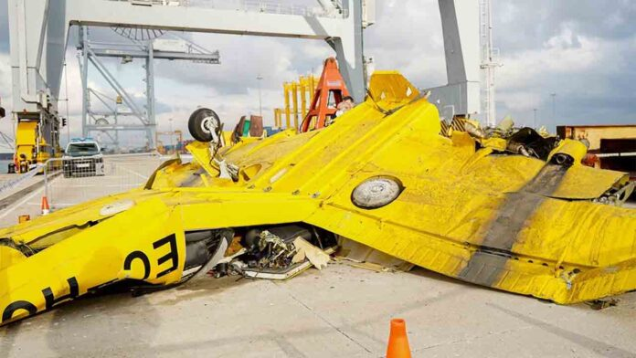 La avioneta que se estrelló en Castellón no siguió las normas de vuelo nocturno