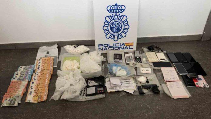 Desmantelado en Madrid un centro de adulteración de cocaína