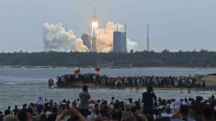 El cohete chino cae al océano Índico, en las islas Maldivas