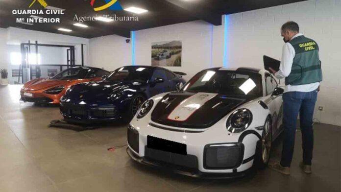 Fraude de 7 millones de euros en IVA con la compraventa de coches usados