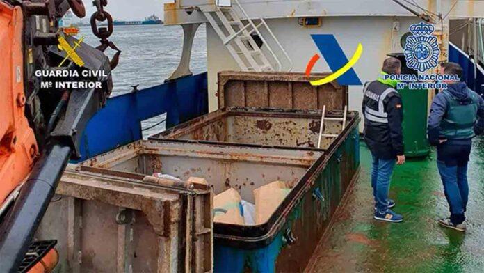 Incautados 7.000 kilos de hachís en el Campo de Gibraltar