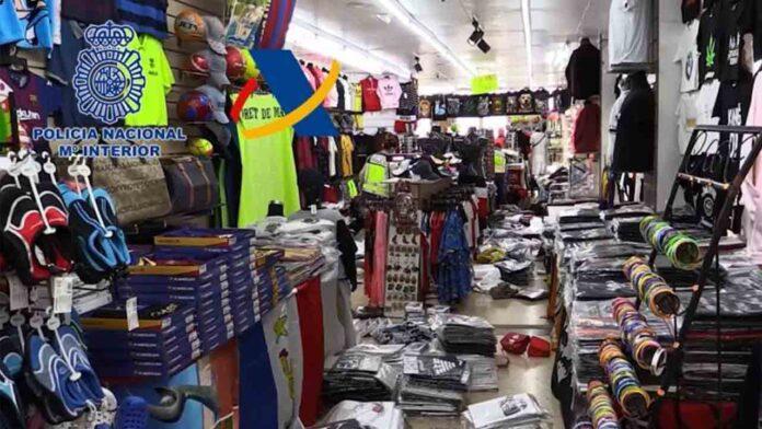 Intervenidos 17.400 productos falsificados en Girona