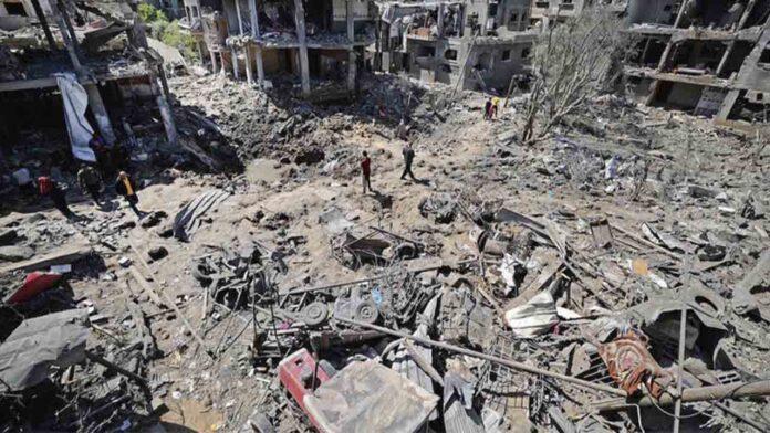 Israel ataca el campo de refugiados de Gaza matando a varios niños