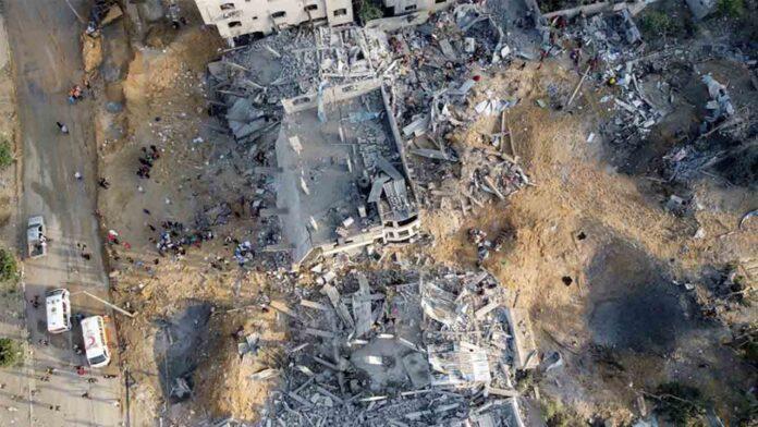 Israel sigue atacando Gaza mientras aumentan las peticiones de alto el fuego