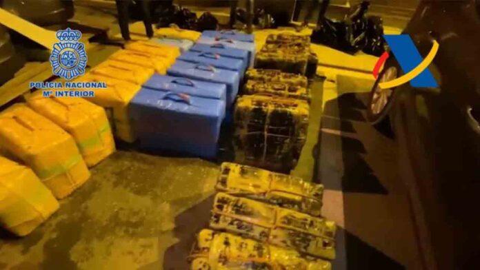 La Policía interviene 1.600 kilos de hachís a un conocido narco británico