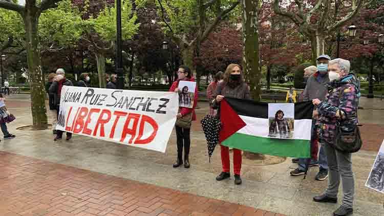 Concentraciones en varias provincias exigiendo la liberación de Juana Ruiz