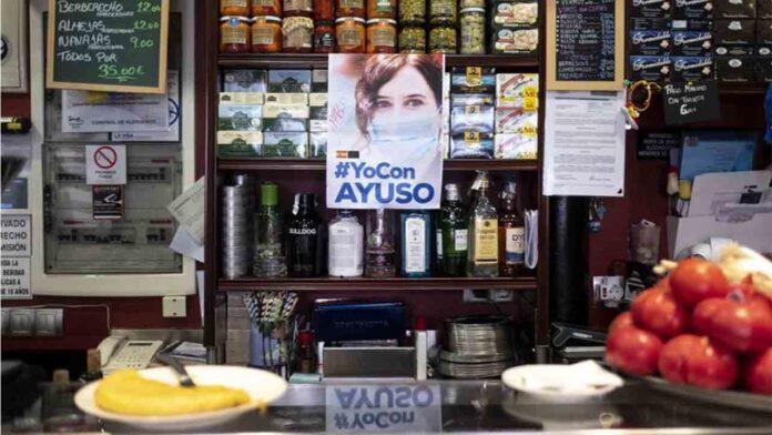 Los hosteleros de Madrid se quedarán sin terrazas, hayan votado o no a Ayuso