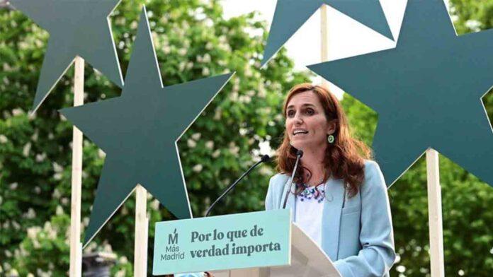 Más Madrid suma más votos en las elecciones madrileñas que el PSOE