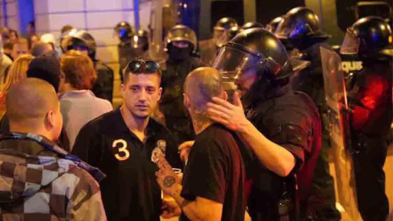 Un año y 10 meses de prisión para un ultra de la plaza de Artós en Barcelona