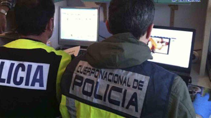 Un hombre compartía pornografía infantil desde su trabajo en Barcelona