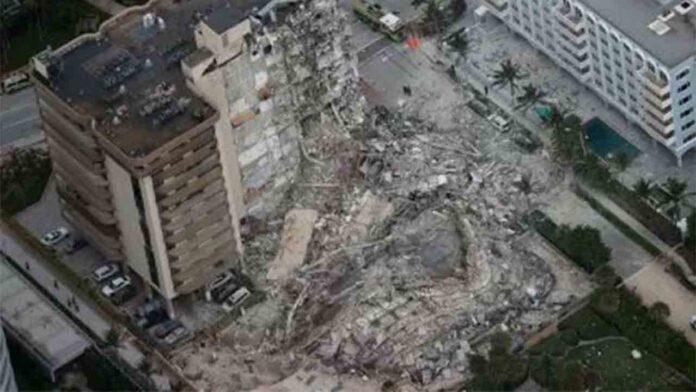 159 desaparecidos en el derrumbe de un edificio en Miami Beach