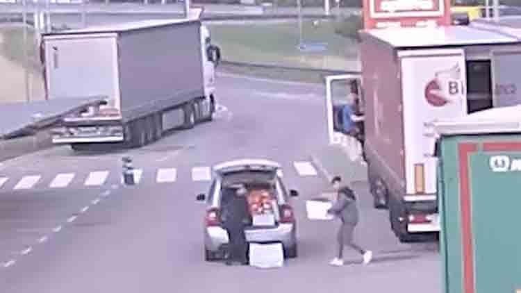 4 detenidos por robos a camiones en las áreas de servicio