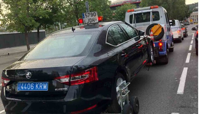 952 sanciones a Cabify en Barcelona en solo dos semanas