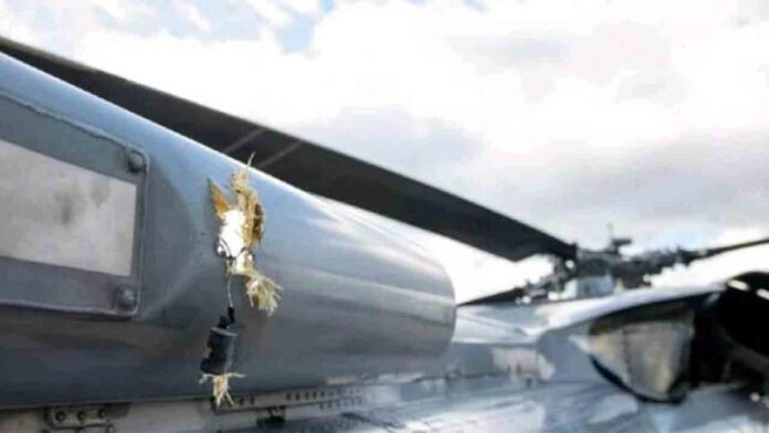 Ataque a tiros contra el helicóptero de Iván Duque
