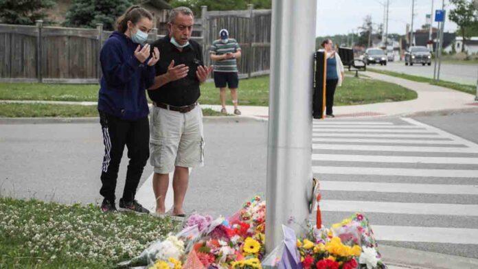 Atropello mortal premeditado a una familia musulmana en Canadá