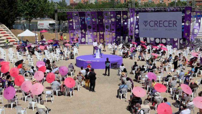 Candidatura de Belarra: 'Un Podemos fuerte es un trío de Colón débil'