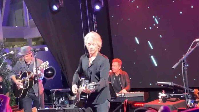 Concierto de Bon Jovi en el MWC 2021