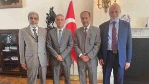 Delegación palestino-musulmana se reúne con embajador turco en Londres