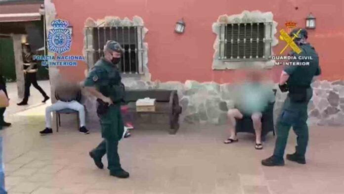 Desarticulada una organización en Málaga dedicada al tráfico de cocaína