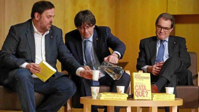 El Tribunal de cuentas reclama 4,7 millones a Junqueras, Mas y Puigdemont