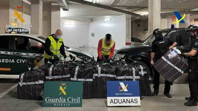 Intervenidos 1.400 kilos de cocaína en el puerto de Bilbao