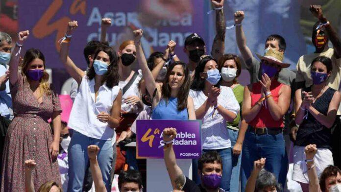 Ione Belarra ya es la nueva secretaria general de Unidas Podemos