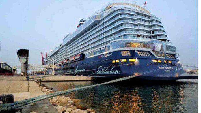 Llega el primer crucero al Puerto de Málaga tras las restricciones