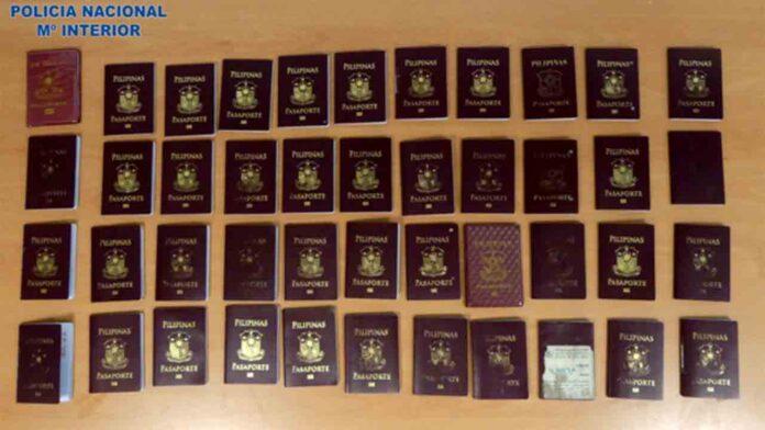 50 filipinos detenidos por acceder a Europa con visados Schengen falsos