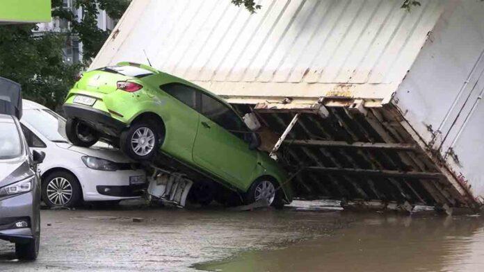 Ascienden a más de 100 los fallecidos en las inundaciones de Alemania