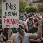 Cargas policiales inaceptables a manifestantes por el asesinato de Samuel