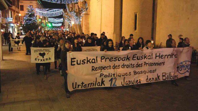 Cuatro presos vascos irán a cárceles de Euskadi y Navarra y uno a La Rioja