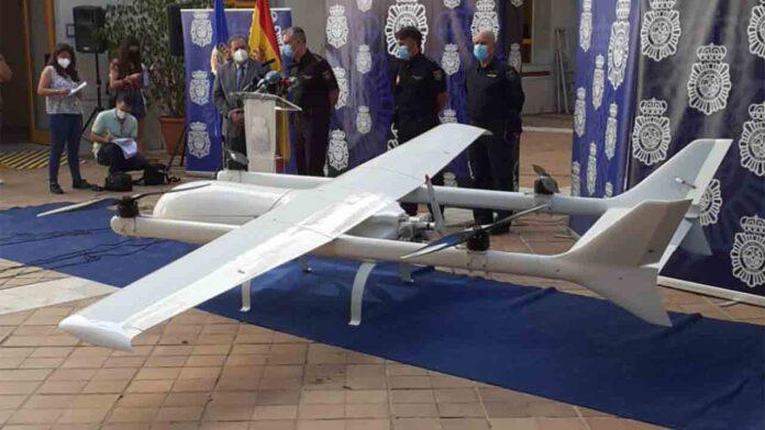 Intervienen un dron de más de 4 metros en Málaga para el transporte de droga entre España y Marruecos