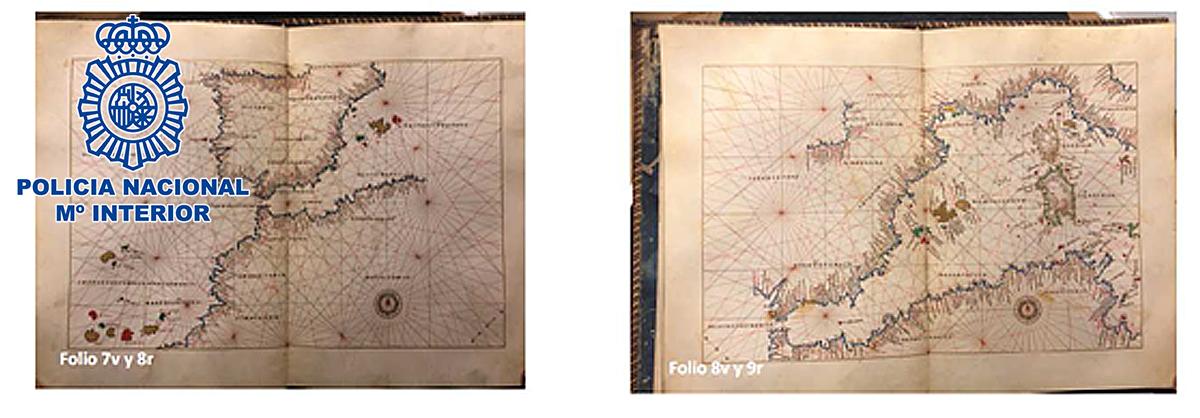 Recuperado un Atlas Portulano del siglo XVI valorado en dos millones de euros