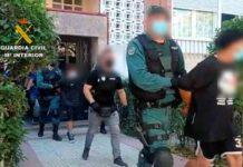 Siete detenidos de la cúpula de los Dominican Don't Play en Madrid